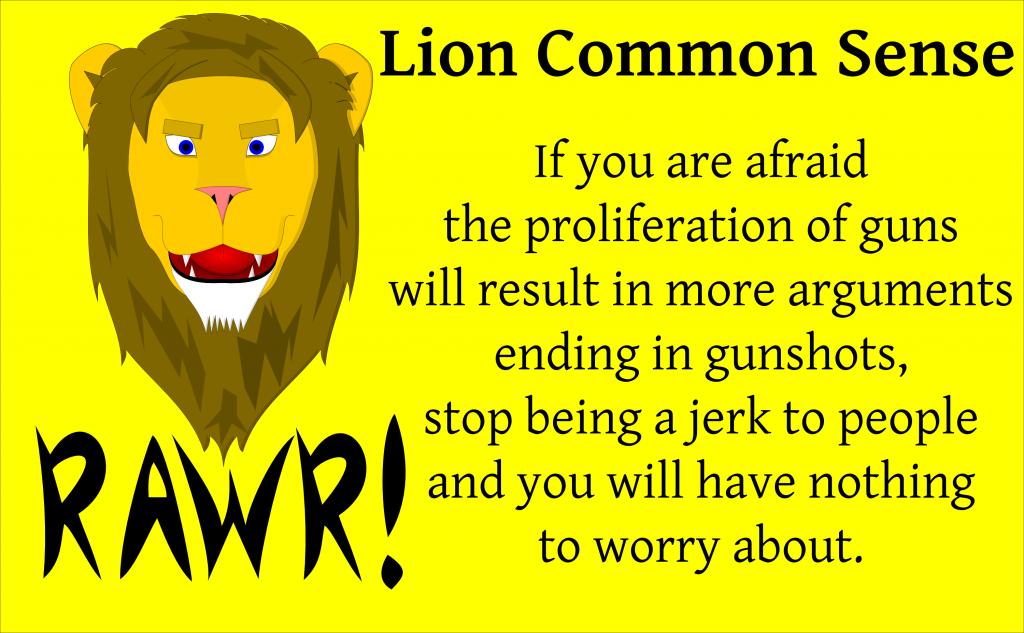LionCommonSenseGunProlif