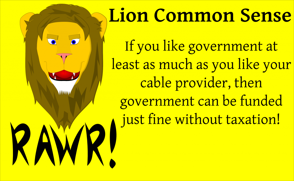 LionCommonSenseTaxation